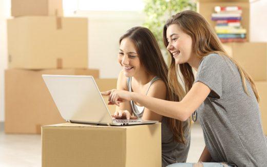 Erfarent og effektivt flyttefirma gør det nemt at flytte hjemmefra